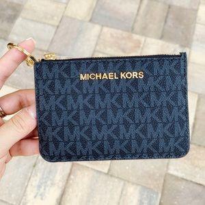 Michael Kors coin wallet brown MK